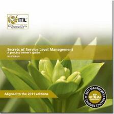 ITIL Secrets Of Service Level Management: A Process Owner's Guide