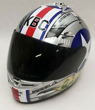 KBC Force S Airborne Edition #1 Miss Behavin Motorcycle Helmet Size LG RARE