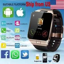 SIM Smartwatch Support UP to 32GB TF Card,Bluetooth Camera GSM SIM/TF Phone