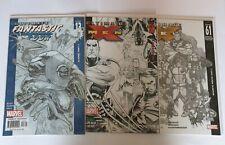 ULTIMATE X-MEN  50 & 61 ULTIMATE FANTASTICFOUR 13 ( sketch covers )