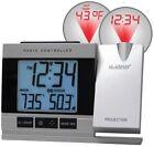 La Crosse Technology  WT-5220U-IT Projection Alarm Clock wit