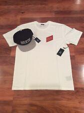 Brixton Supply Co. Snapback Hat + LARGE T-Shirt Combo NWT