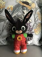 "Bing bunny soft toy plush NONE TALKING toy cbeebies BBC rabbit 10"" fisherprice"