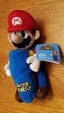 Nintendo Super Mario Plush Mesh Hugger & Washcloth 2-Piece Bath Buddy Set ☆ New