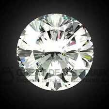 Exquisite ROUND cut shape Russian Diamond Simulant solitaire fancy COLOUR