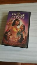 VHS Tape from US Dreamworks Prince of Egypt animation (1999) Collectible