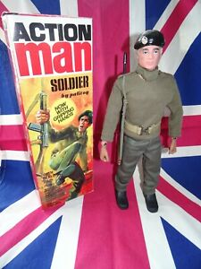 40TH ANNIVERSARY ACTION MAN SOLDIER - BOXED