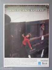 R&L Ex-Mag Advert: Colorfast,  American Express, Harrods, Train No.3543