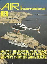 Air International V21 N1 Nimrod Malta Hawker Hunter de Havilland Canada Beaver