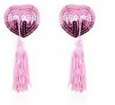 BRAND NEW SEXY PINK SEQUIN NIPPLE TASSLE/TASSEL - HEN PARTY - BURLESQUE