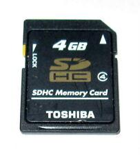 Toshiba 4GB SDHC Memory Card - New Open Box Seller Guarantee US Seller Fast Ship