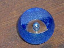 Hand Blown Art Glass Knob Cabinet Drawer Pull Art Hardware Vintage Paperweight