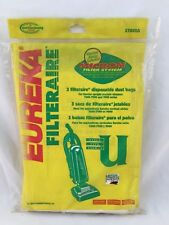 GENUINE EUREKA 57802A FILTERAIRE DISPOSABLE DUST BAGS STYLE U (3-3 PACK) 9 TOTAL