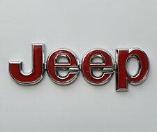 Badge Original JEEP en 3D Adhésif Emblème Lettrage Logo en METAL / NEUF