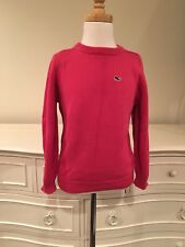 Vineyard Vines Pink Girls Cotton Long Sleeve Sweater Sz.6-7