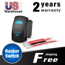 Nilight LED Light Bar Rocker Switch 5Pin Switch jumper wires,2 Years Warranty