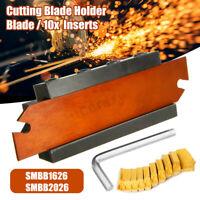 SMBB1626/SMBB2026 Porte-outil + Cut-Off Cutter Lame SPB26-3 10x Inserts GTN-3