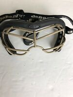 DeBeer Vista Eye Mask Goggles Lacrosse Field Hockey VSTGSW ESBC2 Black ASTM F803