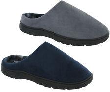 Slip On Mules Outdoor Indoor Lounge Lightweight Slippers Warm Comfort UK 7-12