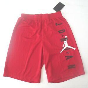 Nike Boys Air Jordan Gym Basketball Shorts - 957176 - Red - Size L - NWT