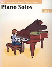 Hal Leonard Student Piano Solos Book 3 Blues March Baroque Boogie Pizzicato