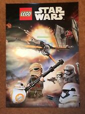 Lego Star Wars Mini Figures & Space Scene Poster
