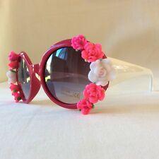 Fleur-pinksandminks Cerise Ornées De Soleil Blanc Temple bras rose forals