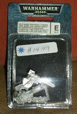 Games Workshop 40k Space Marine Space Wolf Guard Terminator Assault Cannon - OOP
