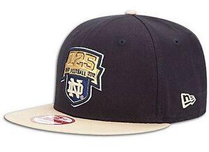Notre Dame Fighting Irish 125 Years Football snapback 9Fifty hat New Era new