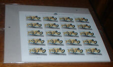 INDIANAPOLIS 500 RACING STAMPS FULL SHEET SEALED MINT