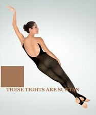 Body Wrappers A93 Women's Size L/XL Suntan Stirrup Body Tights