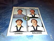 ZANINELLI-MARLIA-CANEO-BALDONI  PARMA Calciatori Panini 1979/80 n°422 Rec