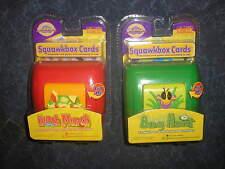New Lot of 2 New Cranium Squawkbox CardsBug Hunt and Lunch Munch