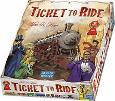 Ticket To Ride Board Game From Days Of Wonder Alan Moon Featured on TableTop