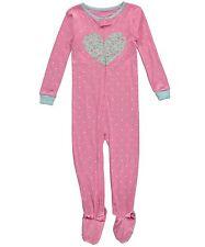 Carter's Toddler Girls Cotton  Snug Fit Sleeper Pajamas NWT 3T Pink