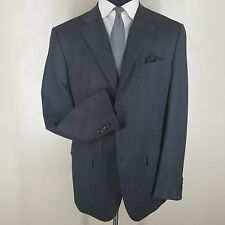 JIL SANDER 'Tailor Made Line' Suit 3 Btn  Center Vent 100% Wool  U.S. Size 44 L