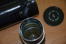 Vintage MINOLTA MC Tele Rokkor-PF 1:2.8 135mm Camera LENS JAPAN Case & Covers