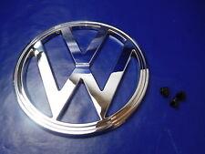VW T2 T2b '73-'79  Bus Bulli VW-Zeichen Logo Emblem Frontemblem Chrom inkl Clips