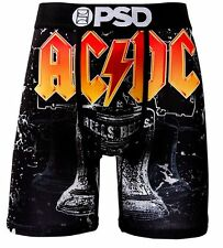 New PSD Men's Boxer Underwear | AC/DC HELLS BELLS | MEDIUM 32-34 | 71521010