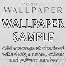 Papier Peint Échantillon - Choisissez Design / Motif Numéro / Add Message à