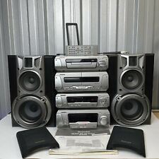 More details for technics sc-eh550 separates stereo hifi system speakers mint condition complete