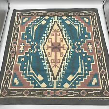 🇺🇸 Vintage Wamcraft Tribal Southwest Bandana Handkerchief - USA Made
