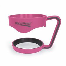 RecPro 30Oz Handle For Stainless Steel Tumblers Pink with Gray