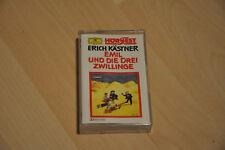 Erich Kästner Hörspiel Emil und die drei Zwillinge, 1 Kassette