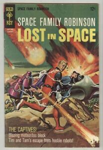 Lost in Space – Space Family Robinson #26 February 1968 VG captives