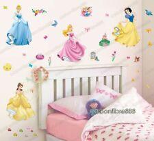 Lovely Princess Wall Stickers Girls Room Nursery Decor Art Mural Decal UK Seller