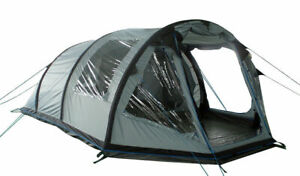 5 BERTH FAMILY INFLATABLE AIR TENT tunnel camping blow up 5 man person