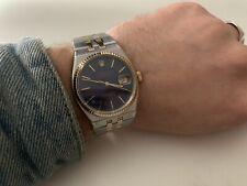 Rolex Datejust Oysterquartz 17013 | Serviced & New Motor | Rare Dial