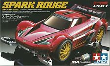 TAMIYA 1:32 MINI 4WD PRO SERIES SPARK ROUGE MA CHASSIS CON MOTORE  ART 18642