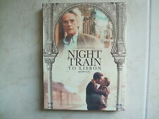 Night Train To Lisbon (2014, Blu-ray) Limited Edition w/ Booklet